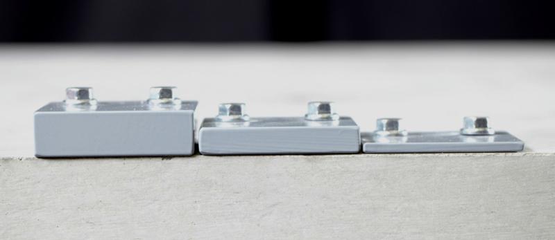 Die Betonschraube ist dank mehreren Klemmstärken äußerst flexibel einsetzbar.