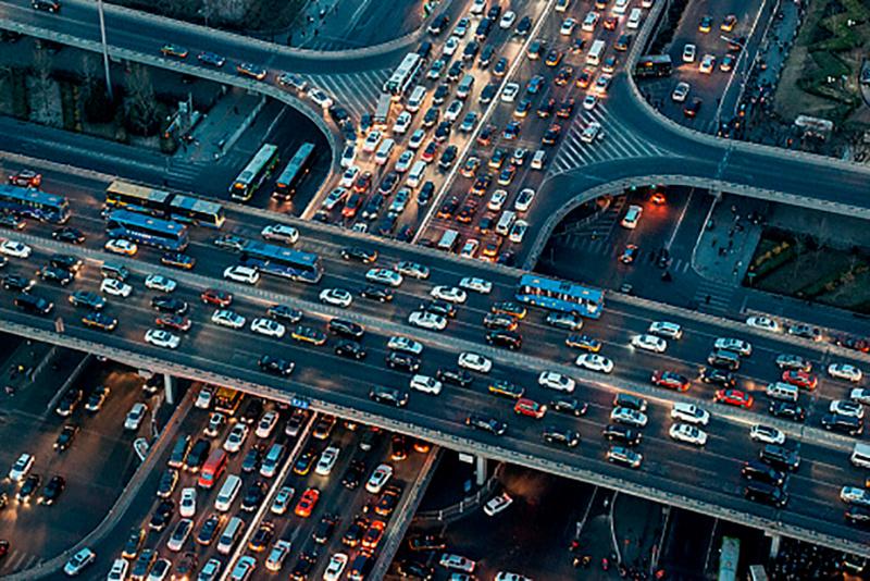 Gestiegene Verkehrsbelastung
