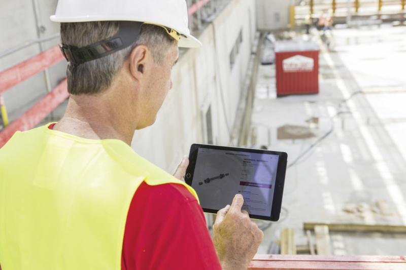Online Bestellung mit Lieferung an die Baustelle