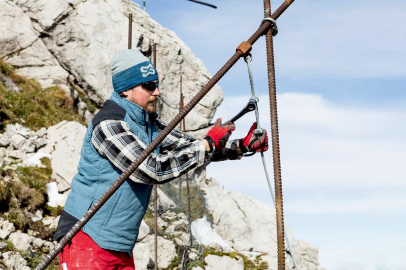 Schutzbrille Bergarbeiten