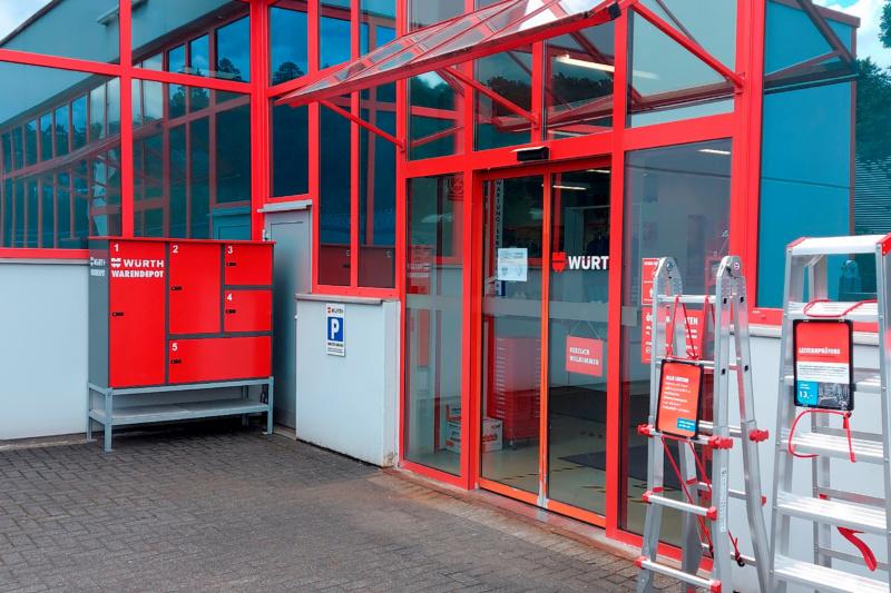 Paketstation Niederlassung Lüdenscheid