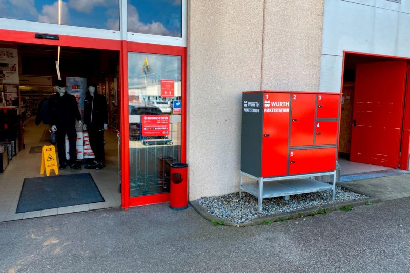 Paketstation Würth Jettingen-Scheppach