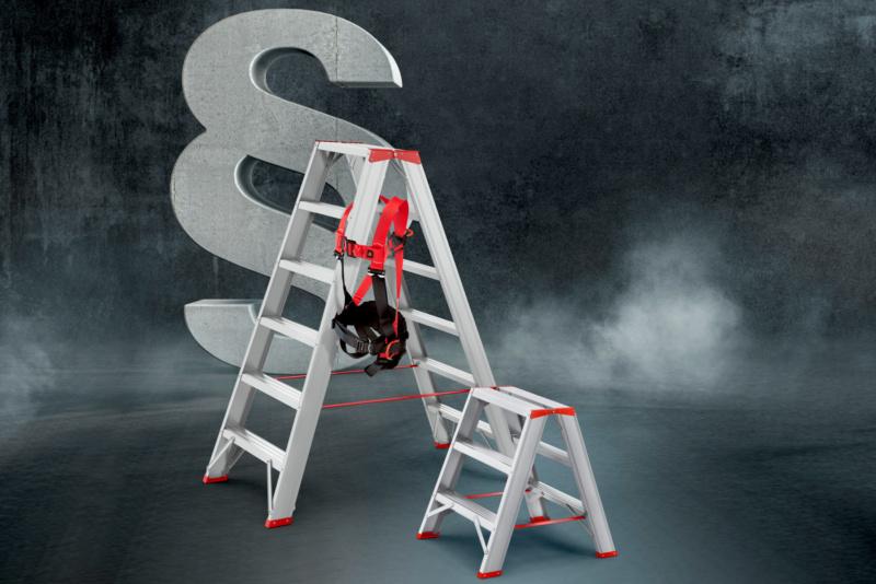 Leitern- und Fallschutzprüfung